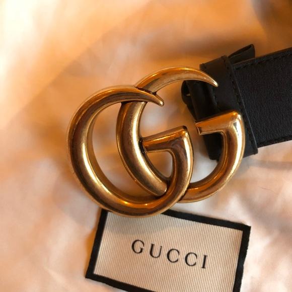 a7cb193cd Gucci Accessories   Authentic Leather Belt 70cm   Poshmark